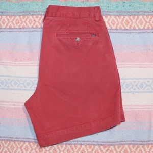 Polo Ralph Lauren Brick Red Chino Shorts